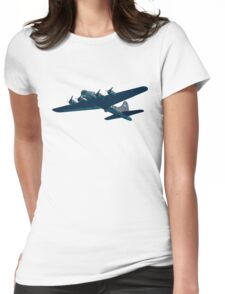 B52 Bomber Womens Fitted T-Shirt