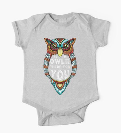 Owl be There for You One Piece - Short Sleeve