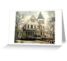 Northport Village Victorian Greeting Card