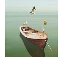 Vintage Boat by Carlos Casamayor