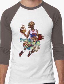 Face Slam Men's Baseball ¾ T-Shirt