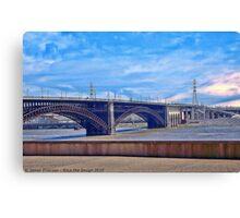 Bridge in Saint Louis Canvas Print