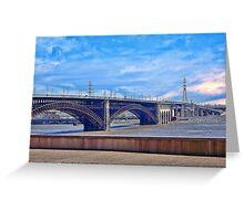 Bridge in Saint Louis Greeting Card