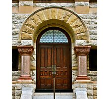 Courthouse doors Photographic Print