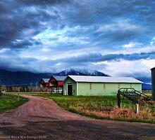 Montana Farm by rocamiadesign