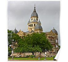 Courthouse on the square Poster