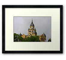 Denton History Framed Print