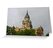 Denton History Greeting Card