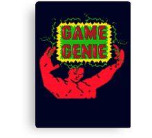 Game Genie Canvas Print