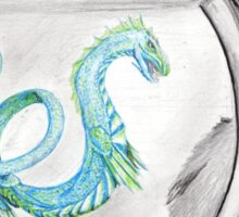 sea dragon- Dragonbowl Sticker