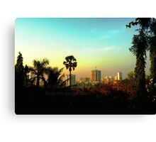 Malad Skyline (Mumbai, India) Canvas Print