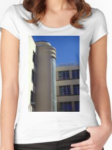 The Modern Age Way Back Then Women's Fitted Scoop T-Shirt