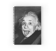 Albert Einstein Best Quality Spiral Notebook