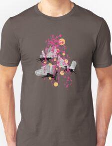 weird city sunset Unisex T-Shirt