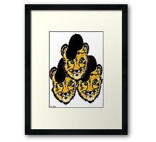OG Cheetah Framed Print