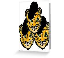 OG Cheetah Greeting Card