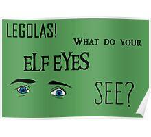 Elf Eyes Poster