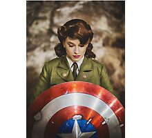 Tanya Wheelock as Peggy Carter (13.2 - Photography by Steven Sze, with Additional Editing by Tascha Dearing) Photographic Print