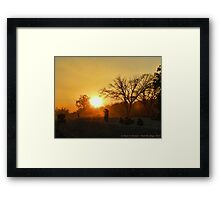 Dreaming of Twilight Framed Print