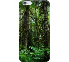 Rain in the Forest iPhone Case/Skin