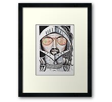 Ray bans in history Framed Print
