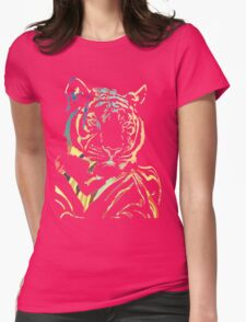 Prettiest Kitty Womens Fitted T-Shirt