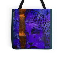 Blue-Mary Tote Bag