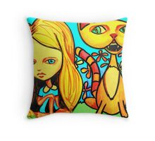 How Are You Going To Help Me (Reworked) Throw Pillow