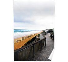 Logan's Beach Viewing Platform, Warrnambool Poster