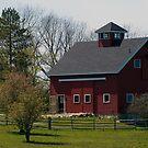 Big Red Barn by Monica M. Scanlan