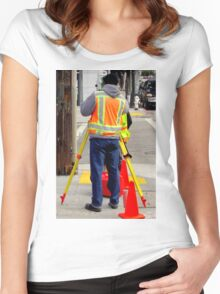 Getting One's Bearings Women's Fitted Scoop T-Shirt