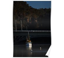 Autumn Afternoon on the Tamar Poster
