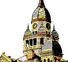 Courthouse Illustration by Stacie Forest