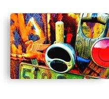rusty n crusty  Canvas Print