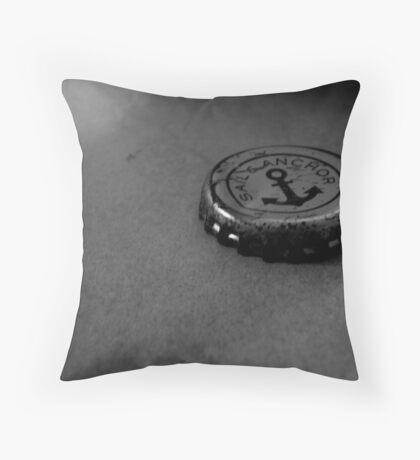 sail & anchor. Throw Pillow