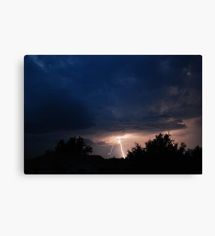 May Thunderstorms Canvas Print