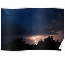 May Thunderstorms Poster