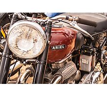 Ariel Motorcycle Photographic Print