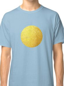 Golden Polka dots Classic T-Shirt