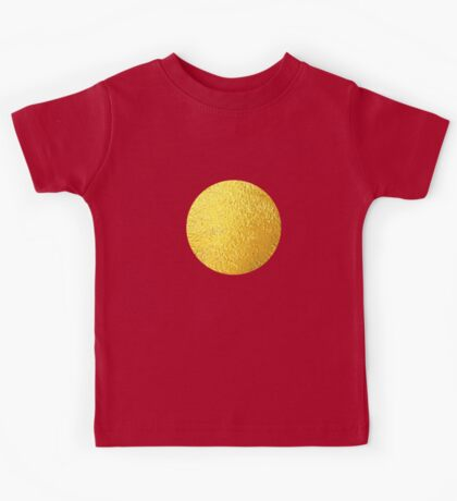 Golden Polka dots Kids Tee