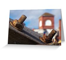 Hardware Rust Greeting Card