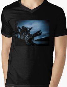 Lake Ghost Mens V-Neck T-Shirt