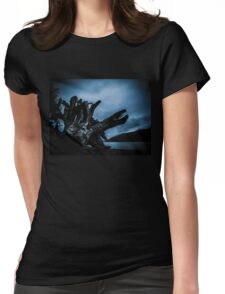 Lake Ghost Womens Fitted T-Shirt