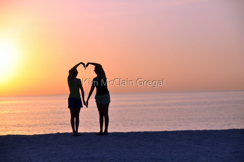 Heart Silhouette by Kim McClain Gregal