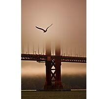 Flying Into the Fog Photographic Print