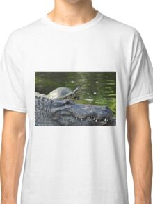 Alligator and Turtle, As Is Classic T-Shirt