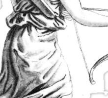 Archer Female Sticker