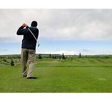 Golf Swing C Photographic Print
