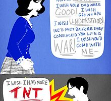 I Wish I Had More TNT by spookdoodles