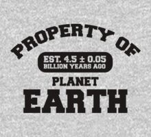 Property of Earth (Classic) Kids Clothes